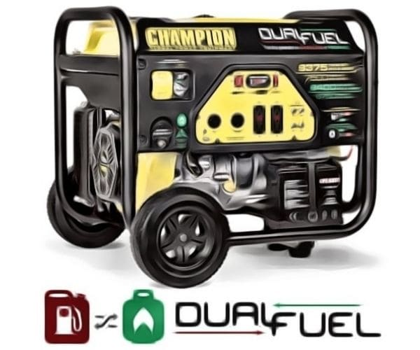 Champion 7500 watt dual fuel generator review